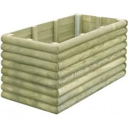 stradeXL Garden Raised Bed 106x56x48 cm Impregnated Pinewood