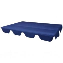 stradeXL Zadaszenie do huśtawki ogrodowej, niebieskie, 226 x 186 cm
