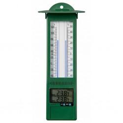 Nature Zewnętrzny termometr cyfrowy, 9,5 x 2,5 x 24 cm