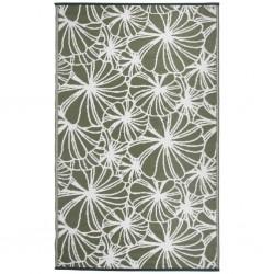 Esschert Design Dywan zewnętrzny, 241x152 cm, wzór w kwiaty, OC21