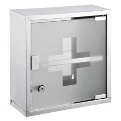 HI Medicine Cabinet 30x12x30 cm Stainless Steel