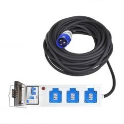 ProPlus Kabel zasilający do namiotu/przyczepy, 10 m, 3 x schuko