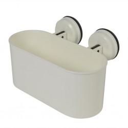 ProPlus Łazienkowy pojemnik z przyssawkami, 6 kg, plastik, biały