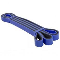 Avento Opaska oporowa do ćwiczeń, lateksowa, ciężka, niebiesko-czarna