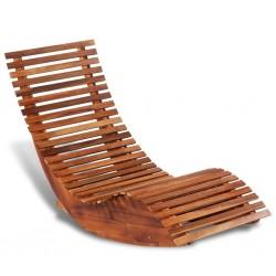 stradeXL Bujany leżak, drewno akacjowe