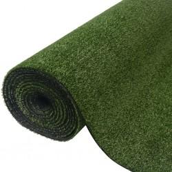 stradeXL Sztuczny trawnik 1,5 x 10 m; 7-9 mm, zielony