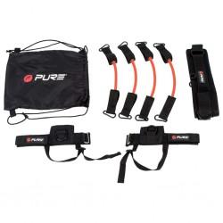 Pure2Improve Zestaw gum treningowych, czarny
