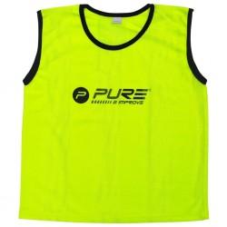 Pure2Improve Kamizelki treningowe, 4 szt., dziecięce, żółte