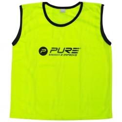 Pure2Improve Kamizelki treningowe, 4 szt., dla dorosłych, żółte