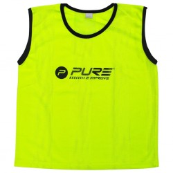 Pure2Improve Kamizelki treningowe, 4 szt., mini, żółte