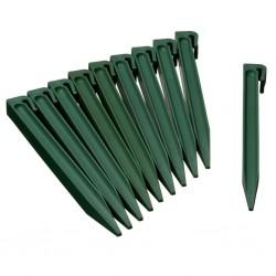 Natur Szpilki kotwiące, 10 szt., zielone