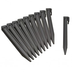 Nature Garden Anchor Pegs 10 pcs Grey