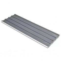 stradeXL Panele dachowe ze stali galwanizowanej, 12 szt., szare