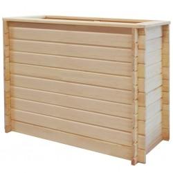 stradeXL Podwyższona donica, 100x50x80 cm, drewno sosnowe, 19 mm