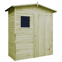 stradeXL Garden Storage Shed Impregnated Pinewood