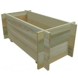 stradeXL Skrzynia ogrodowa, impregnowane drewno sosnowe, 80 cm