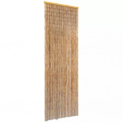 stradeXL Insect Door Curtain Bamboo 56x185 cm