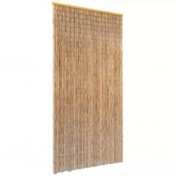 stradeXL Insect Door Curtain Bamboo 90x220 cm