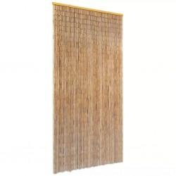 stradeXL Zasłona na drzwi, bambusowa, 90 x 220 cm