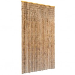 stradeXL Insect Door Curtain Bamboo 100x200 cm