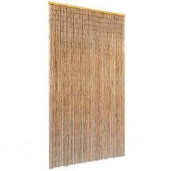 stradeXL Zasłona na drzwi, bambusowa, 100 x 200 cm