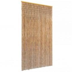 stradeXL Insect Door Curtain Bamboo 100x220 cm