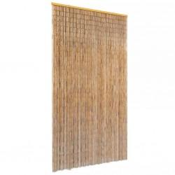 stradeXL Zasłona na drzwi, bambusowa, 100 x 220 cm