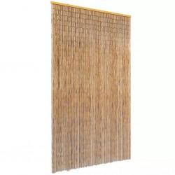 stradeXL Zasłona na drzwi, bambusowa, 120 x 220 cm