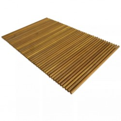 stradeXL Mata łazienkowa, drewno akacjowe, 80 x 50 cm