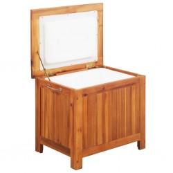 stradeXL Ice Box Solid Acacia Wood 63x44x50 cm