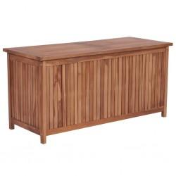 stradeXL Skrzynia ogrodowa, 120x50x58 cm, lite drewno tekowe