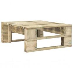 stradeXL Stołek ogrodowy z palet, drewno
