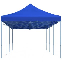 stradeXL Folding Pop-up Party Tent 3x9 m Blue