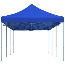stradeXL Składany namiot imprezowy, 3 x 9 m, niebieski