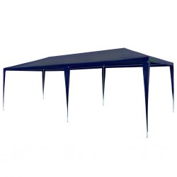 stradeXL Party Tent 3x6 m PE Blue