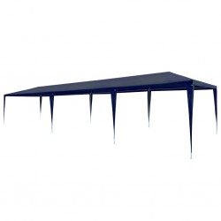 stradeXL Party Tent 3x9 m PE Blue
