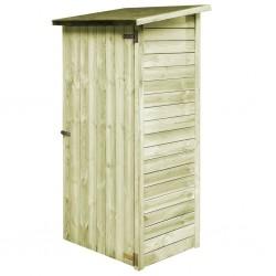 stradeXL Szopa ogrodowa z impregnowanego drewna sosnowego, 88x76x175 cm