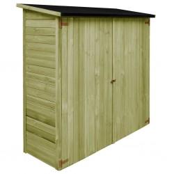 stradeXL Szopa ogrodowa z impregnowanego drewna sosnowego, 182x76x175 cm