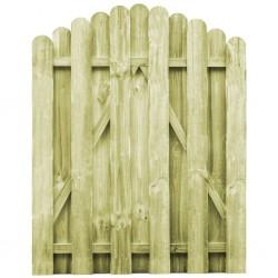 stradeXL Furtka z łukiem, impregnowane drewno sosnowe, 100 x 125