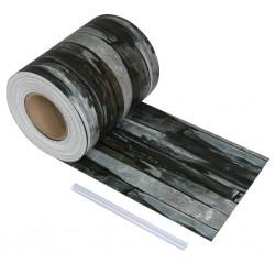 stradeXL PVC Fence Strip Roll 70x0.19 m Stone