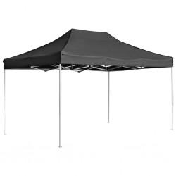 stradeXL Profesjonalny, składany namiot imprezowy, 4,5 x 3 m, antracyt