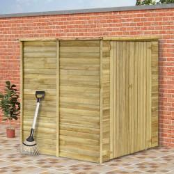 stradeXL Szopa na narzędzia, 157x159x178 cm, impregnowane drewno sosnowe