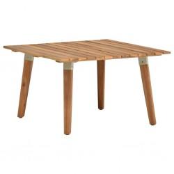 stradeXL Ogrodowy stolik kawowy, 60x60x36 cm, lite drewno akacjowe