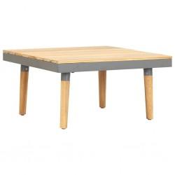 stradeXL Ogrodowy stolik kawowy, 60x60x31,5 cm, lite drewno akacjowe