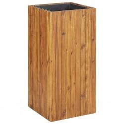 stradeXL Podwyższona donica ogrodowa, 43,5x43,5x90 cm, drewno akacjowe