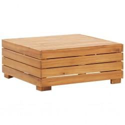 stradeXL Moduł stolika, 1 szt., lite drewno akacjowe