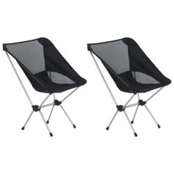 stradeXL Składane krzesła turystyczne, 2 szt., z torbą, 54 x 50 x 65 cm