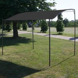 stradeXL Zadaszenie, 3 x 2,5 m, antracytowe