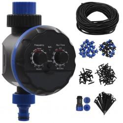 stradeXL 142-elementowy, automatyczny system nawadniania z zegarem