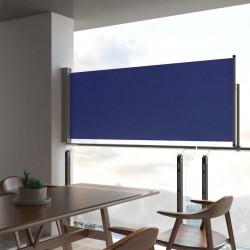 stradeXL Wysuwana markiza boczna na taras, 100 x 300 cm, niebieska